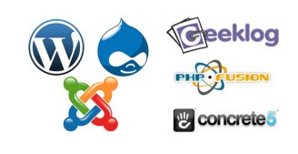 php cms
