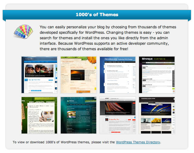 webhostinghub website templates