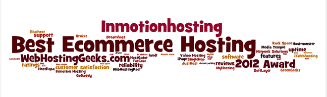 Award for the Best eCommerce Hosting