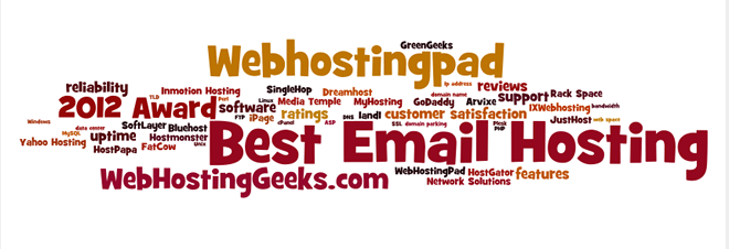 Award for the Best Email Hosting