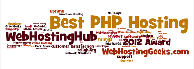 Award for the Best PHP Hosting