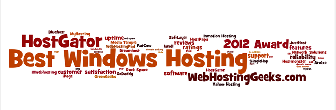 Award for the Best Windows Hosting
