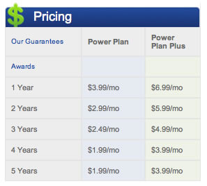 webhostingpad pricing