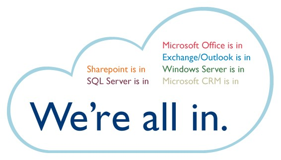 Microsoft Cloud - We are all in.