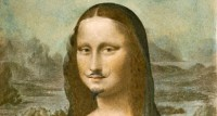 Duchamp Mona Lisa