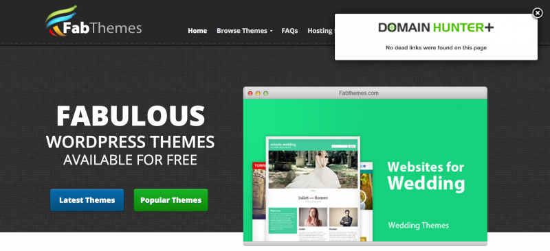 domain hunter fabthemes